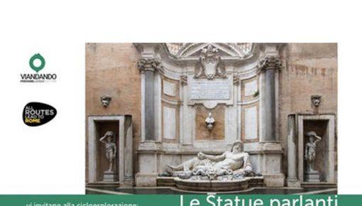 Roma Bike Tour: le statue parlanti