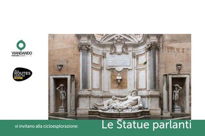 Bike Tour Roma - Le statue parlanti