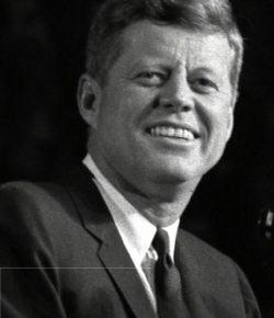 John Fitzgerald Kennedy e la bicicletta