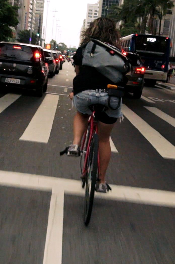 Sicurezza bici nel traffico