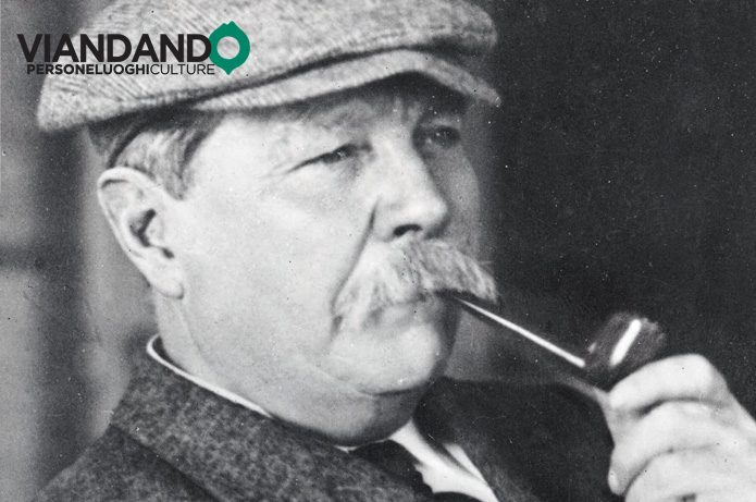 Sir Arthur Conan Doyle e la bicicletta